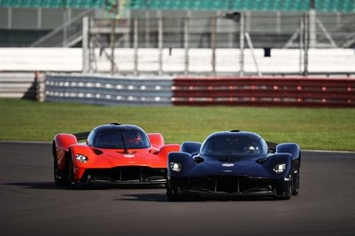 Can You Guess Where Aston Martin Is Getting Input From for the Valkyrie Hypercar?