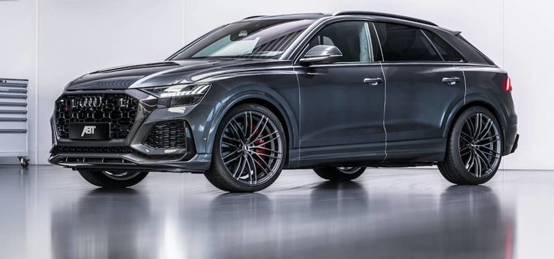 ABT Sportsline Offers a Peek Into Its New Program for the Audi RS6 Avant