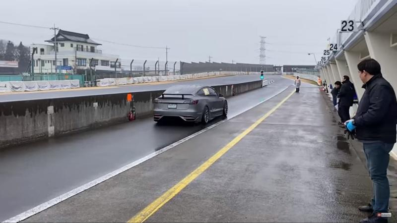 The List of Cars This Modified Tesla Model 3 Beat Around Tsukuba Circuit In Japan is Outlandish At Best