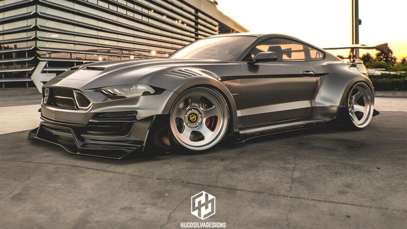 This Rendering of a Shelby Super Snake Widebody Looks Downright Amazing