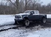 Video: Would You Treat Your $100,000 Ford F-350 Like This? - image 886906