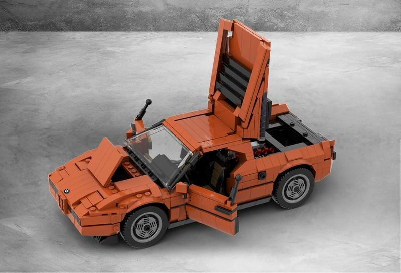 Want a BMW M1 Lego kit? Hurry Up and Support this Product Idea
