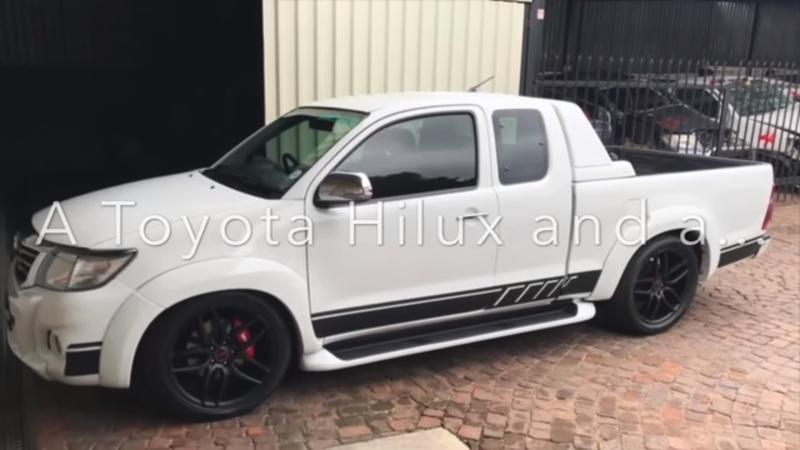 You Won't Believe What Lurks Under the Hood of This Toyota Hilux