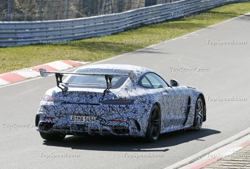 New Reports Say the Mercedes-AMG GT Black Series Will Debut in July