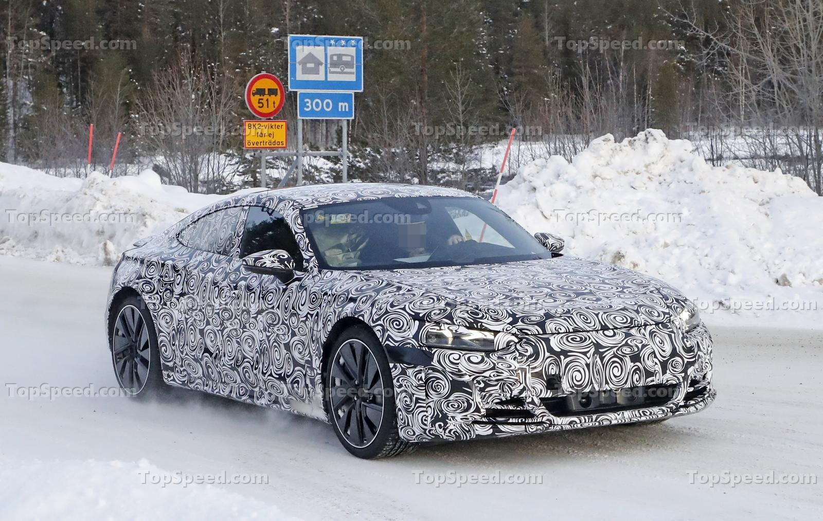 2021 audi e-tron gt speculative review and first spy shots