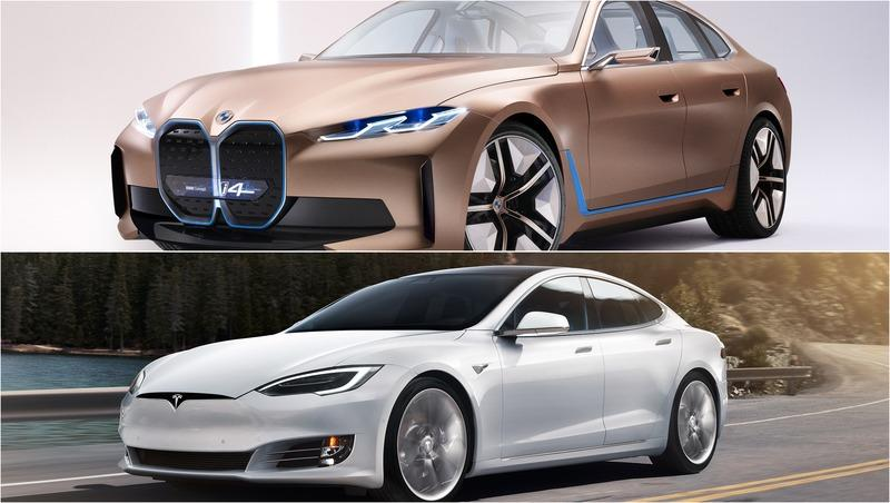 2021 BMW i4 vs 2020 Tesla Model S