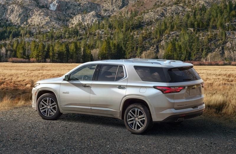 2021 Chevrolet Traverse Exterior - image 892027