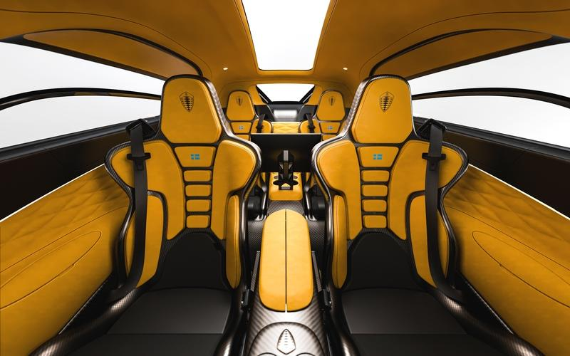 Cupholders? The Koenigsegg Gemera is the Most Practical Hypercar Ever Built Interior - image 890082
