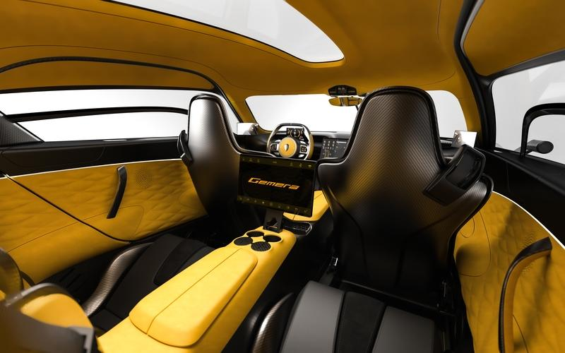 Cupholders? The Koenigsegg Gemera is the Most Practical Hypercar Ever Built Interior - image 890089