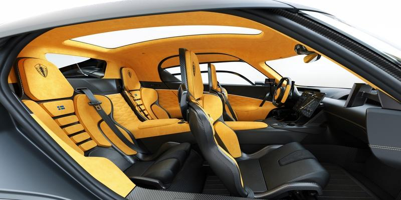 Cupholders? The Koenigsegg Gemera is the Most Practical Hypercar Ever Built Interior - image 890066