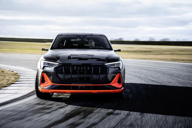 Audi's New E-Tron S Can Drift, But What's the Point?