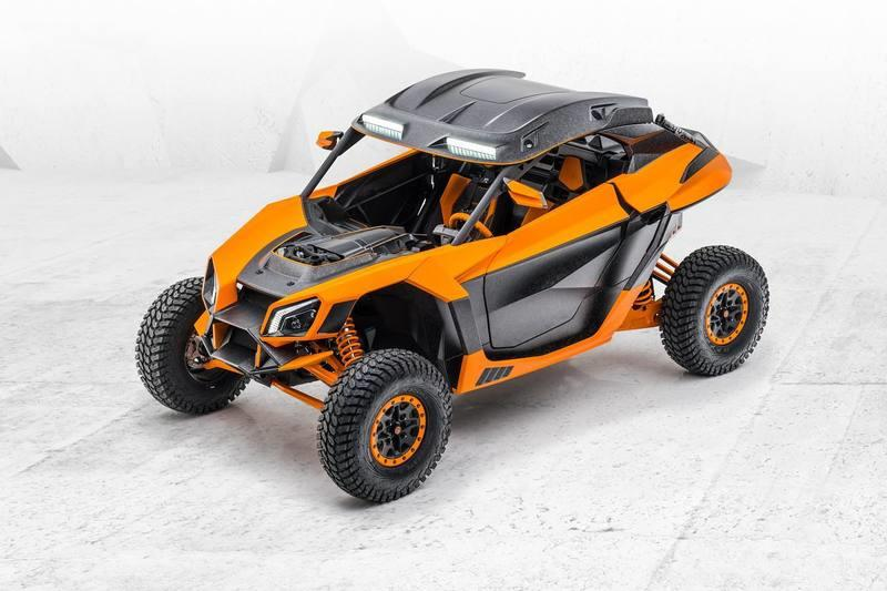 2020 Can-Am Maverick X3 Xerocole by Mansory