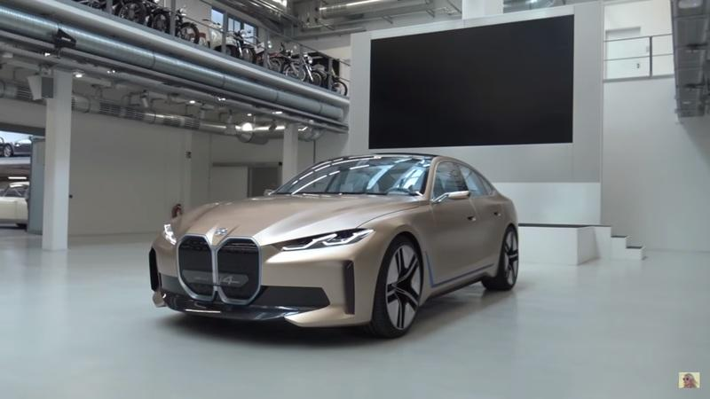 COVID-19 Relief: Check out the awesome BMW i4 with Supercar Blondie