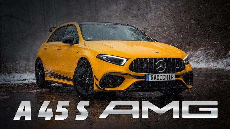 Racechip Can Tune the Mercedes-AMG A45 to Near-500 Horsepower On the Cheap