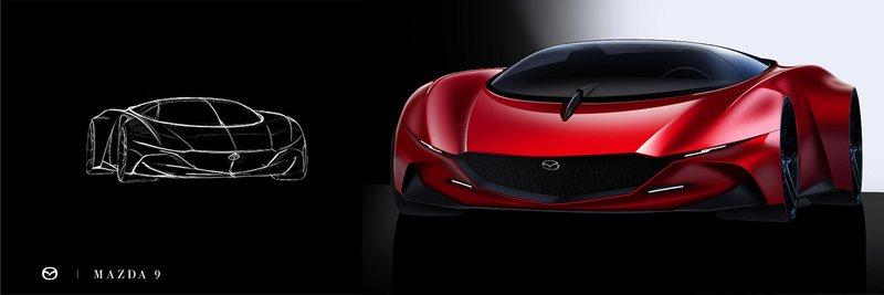 If Mazda Was Going to Build A Supercar, This Is What It Should Look Like