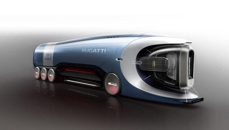 In The Future, This Bugatti Semi (Hyper) Truck Could Help Transport All the Crap You Buy on Amazon - image 890891