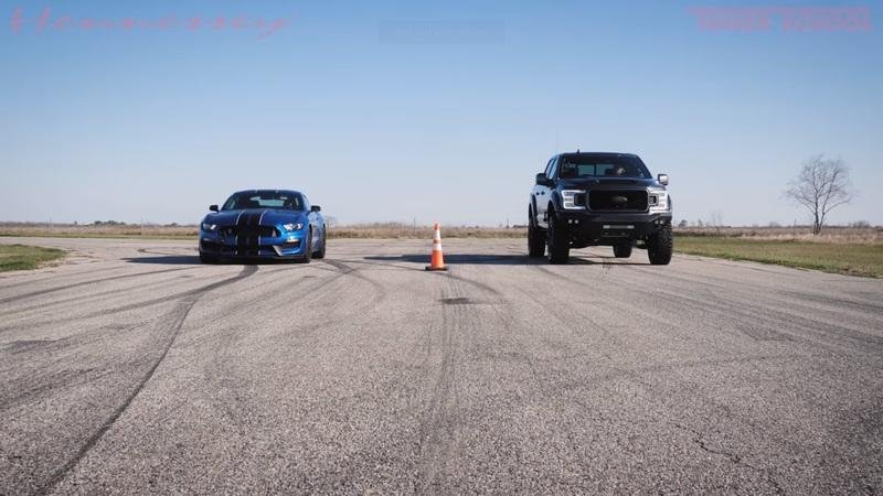 Is a Hennessey Venom 775 Faster Than a Ford Mustang Shelby GT500?
