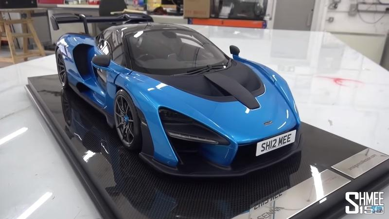 Living the Dream? Shmee Has a Model Car That's Identical to His McLaren Senna