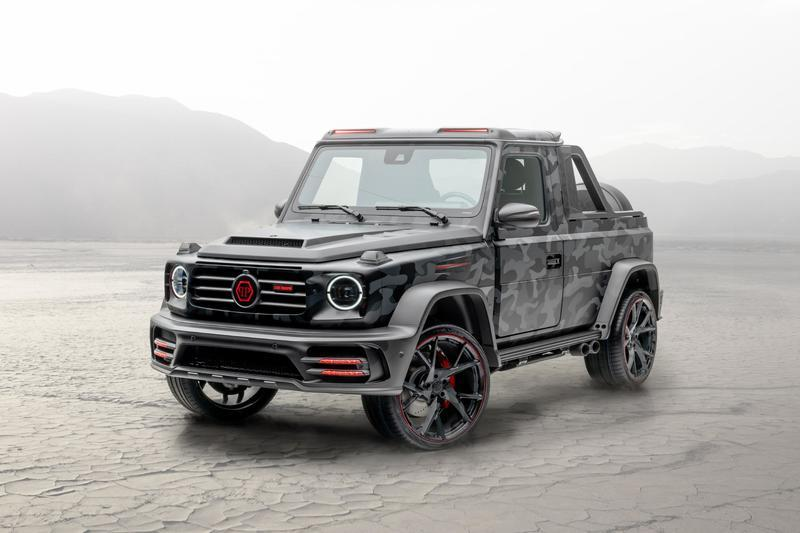 2020 Mercedes-AMG G-Class Star Trooper Pickup by Mansory