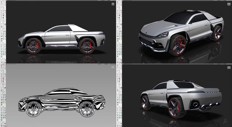 Meet Traycan, the Porsche Pickup Truck We Will Never Get - image 893202