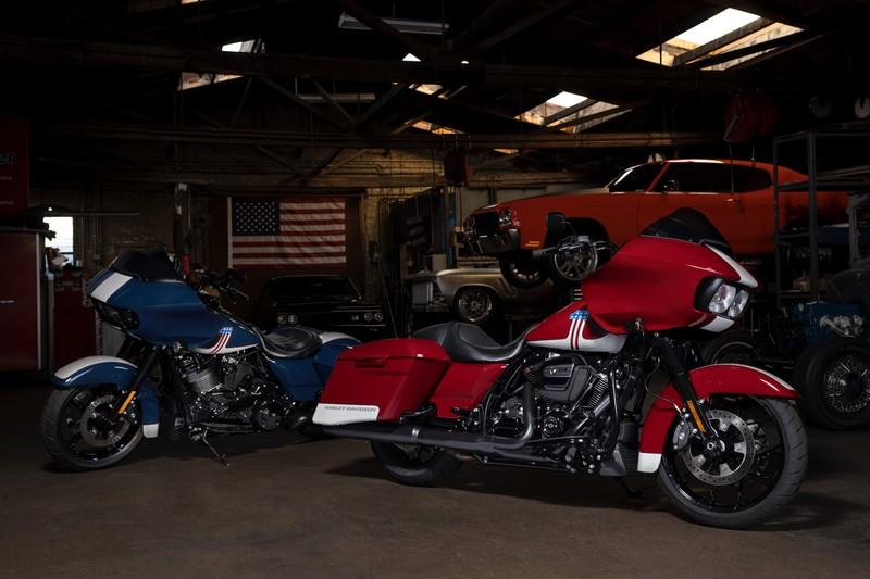 Harley-Davidson goes on a patriotic road for the Road Glide Special