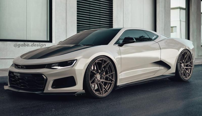 Rendering: If the Chevy Camaro Was Mid-Engined, It Would Look Very Lamborghini-ish - image 891948