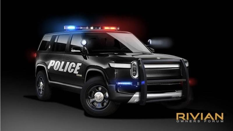 Rivian Has a Unique Solution to Cater Specifically to Police Officers