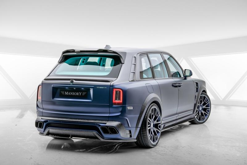 2020 Rolls-Royce Cullinan Coastline By Mansory Exterior - image 890406