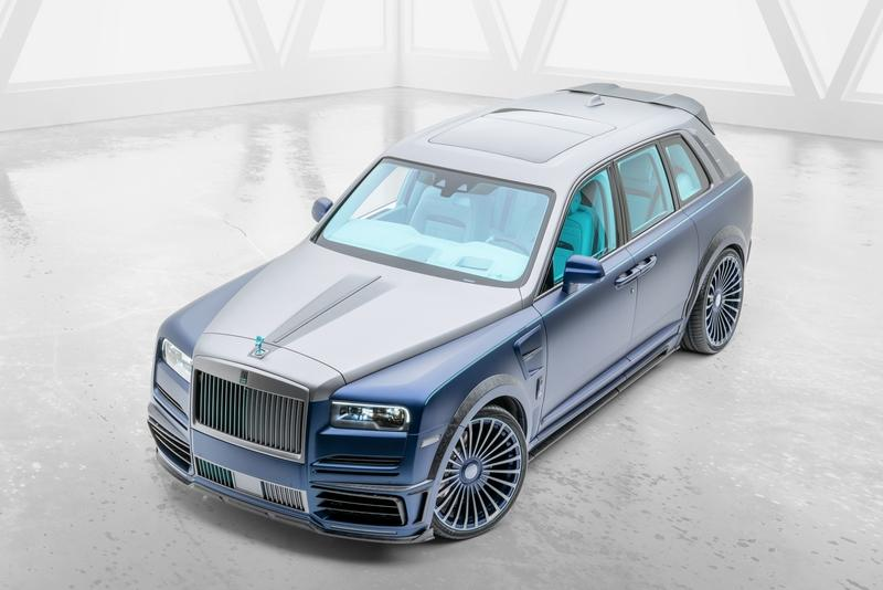 2020 Rolls-Royce Cullinan Coastline By Mansory Exterior - image 890411