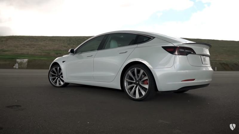 Tesla Launches A New Track Package And Track Mode V2 For The Model 3 Performance!