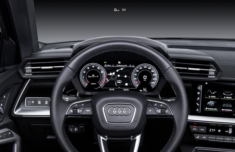 The Audi A3 Just Evolved for 2021 and Hot Damn is That Cabin Awesome Interior - image 890031