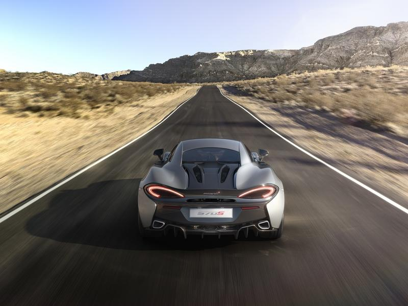 The McLaren 570S Needs 2.3 Miles to Surpass Its Top Speed
