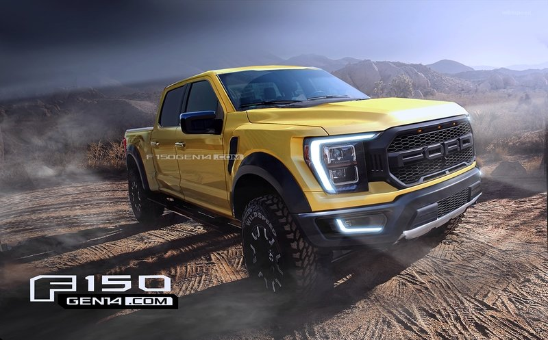 the new 2021 ford f150 could very well look like this