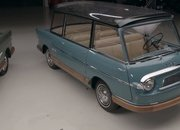 The Only Two Surviving Fiat 600 Multipla Mirafioris Drop By Jay Leno's Garage - image 892398