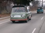 The Only Two Surviving Fiat 600 Multipla Mirafioris Drop By Jay Leno's Garage - image 892399
