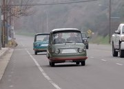 The Only Two Surviving Fiat 600 Multipla Mirafioris Drop By Jay Leno's Garage - image 892400