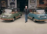 The Only Two Surviving Fiat 600 Multipla Mirafioris Drop By Jay Leno's Garage - image 892402