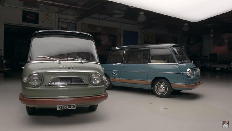 The Only Two Surviving Fiat 600 Multipla Mirafioris Drop By Jay Leno's Garage - image 892395