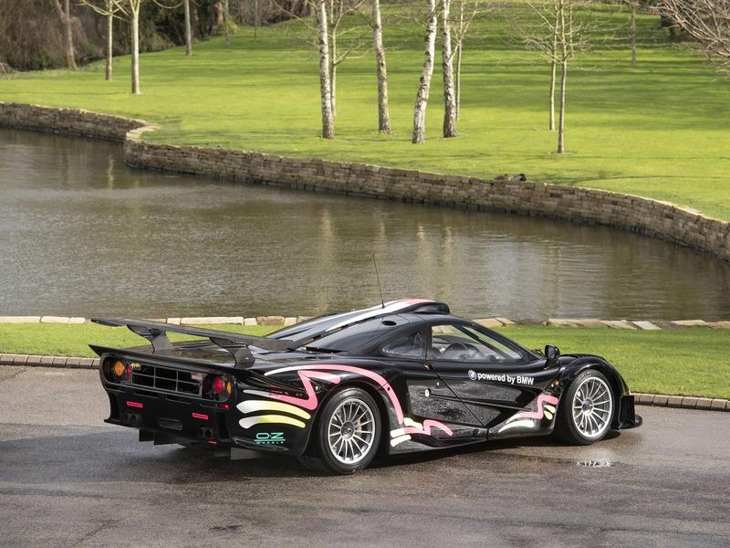 The Very First McLaren F1 GTR Longtail is Up for Sale!