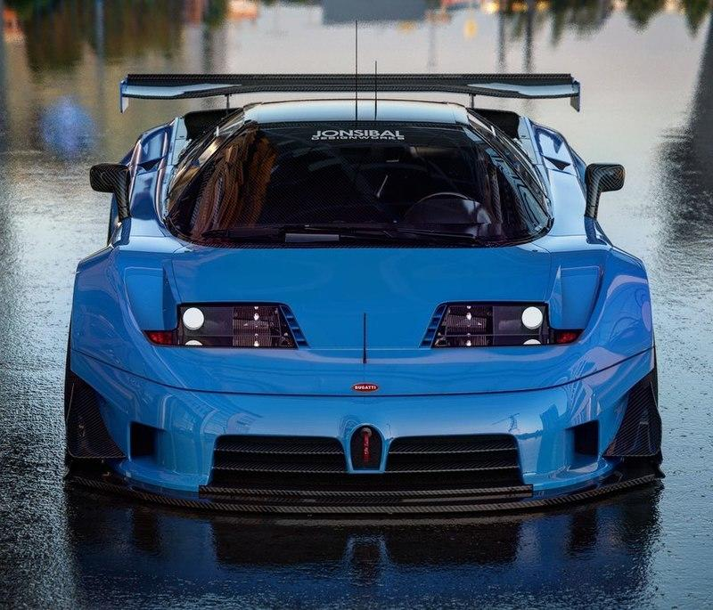 Is This Bugatti EB110 GTR Better Than the Centodieci?