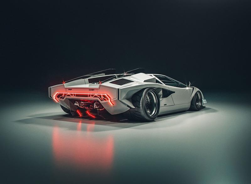 This Cyberpunk Countach Is The Electric Lamborghini We Need