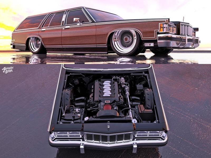 This Mercury Grand Marquis Wagon Should Be Built Right Away