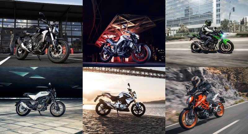 Top Speed Top Six Naked Streetfighters to consider for beginners