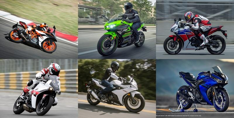 Top Speed Top Six Sportsbikes to consider for beginners
