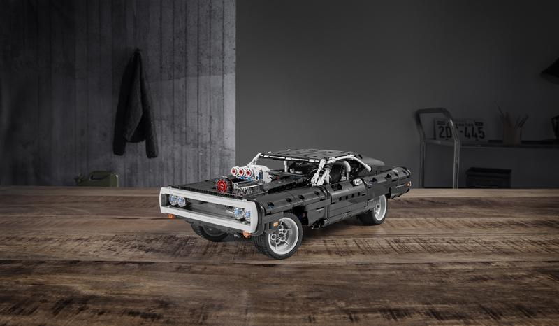Vin Diesel's Fast and Furious 1970 Dodge Charger R/T Is Now a Lego Technic Set