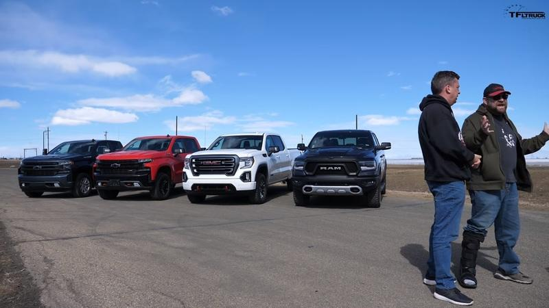 Watch Four Pickup Trucks Go Up Against Each Other In A Bunch Of Drag Races - image 889089