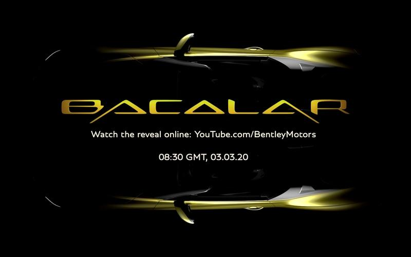 Watch the Bentley Mulliner Bacalar Livestream Debut Right Here!