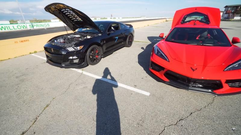 2020 Chevy C8 Corvette vs 2020 Shelby GT500: Which Is Faster on the Track?