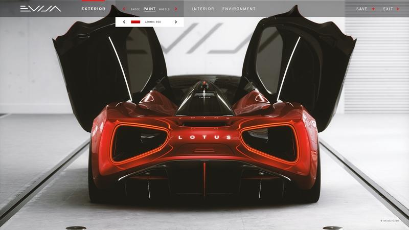 2020 Lotus Evija Configurator - You Want to Play But You Can't! Exterior - image 895760