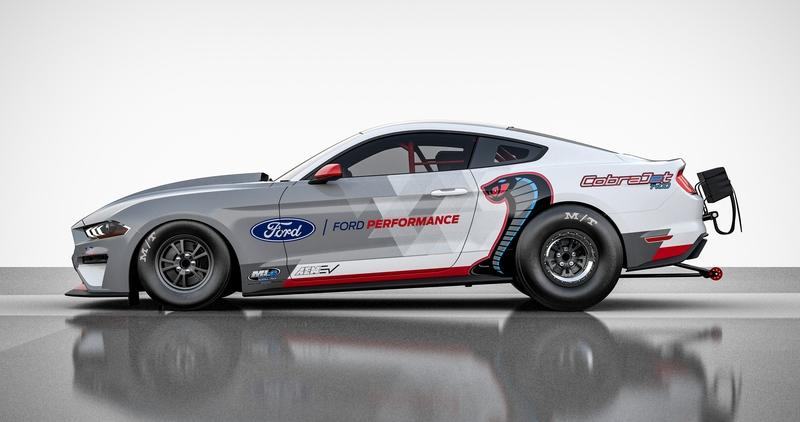 All-Electric Mustang Cobra Jet 1400 Is Ford's New Silent Rubber-Burning Monster - image 896967